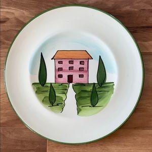 World Market Decorative Ceramic Plate